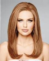 High Fashion - Lace Front French Drawn Monofilament Top 100% Remy Human Hair Wig - Raquel Welch