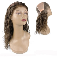 Adelita  FLW00039 - Ocean Wave 100% Remi Human Hair Lace Wig - Custom Wig - Professional Specialty - Salon Look