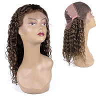 Dalia  FLW000041- Deep Curly 100% Remi Human Hair Wig Lace Wig - Custom Wig - Professional Specialty - Salon Look
