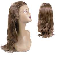 Jasmine FLW00018 - Natural Silky Straight 100% Remi Human Hair Lace Wig - Professional Specialty - Custom Wig - Salon Look