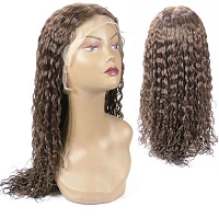 Natalie  - FLW00004 - Spanish Wavy 100% Remy Human Hair Lace Wig - Professional Specialty - Custom Wig - Salon Look