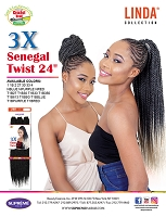 Linda 3x Senegal Twist 24