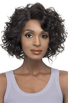 Alaina -  100% Natural Brazilian Remi Human Hair Lace Front Invisible Part Wig - Vivica Fox