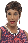 HH CARITA - 100% Human Hair Wig - Vivica Fox - Pure Stretch Cap