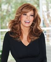 Curve Appeal - Lace Front Monofilament Part Wig - Raquel Welch