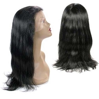 Natalya  FLW00015 - Silky Natural Yaki Texture 100% Remi Human Hair Lace Wig - Custom Wig - Professional Specialty - Salon Look