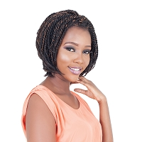 Twist Bob - 100% Hand-Braided Synthetic Lace Front Wig - Supreme