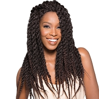 Senegal Loc Braid - 100% Hand-Braided Synthetic Hair Lace Front Wig - Supreme