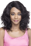 Annette - 100% Natural Brazilian Remi Human Hair Lace Front Invisible Part Wig - Vivica Fox