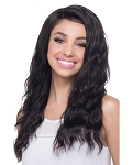 Gannet - Natural Brazilian Remi Human Hair Full Lace Front Baby Hair Wig - Vivica Fox