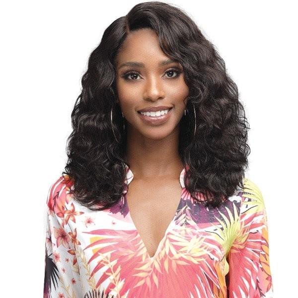 "MHLF905 AMERIE 4.5"" DEEP LACE PART SWISS LACE FRONT HUMAN HAIR WIG - BOBBI BOSS"