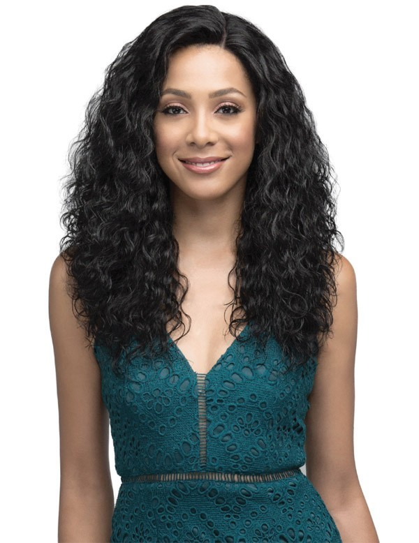 "BOBBI BOSS MHRLF002 22"" INDIREMI  NATURAL WAVE LACE FRONT WIG"