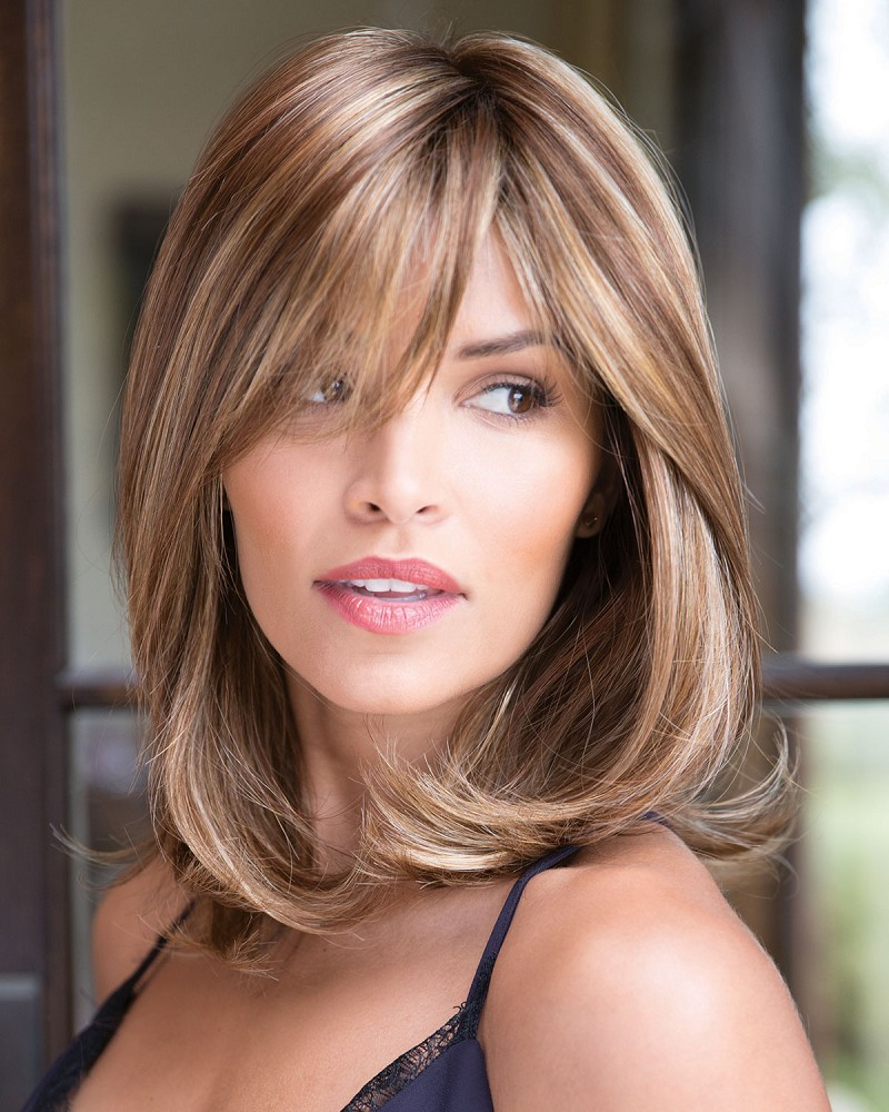 KENZIE 1684 MONOFILAMENT TOP SYNTHETIC HAIR WIG - NORIKO COLLECTION