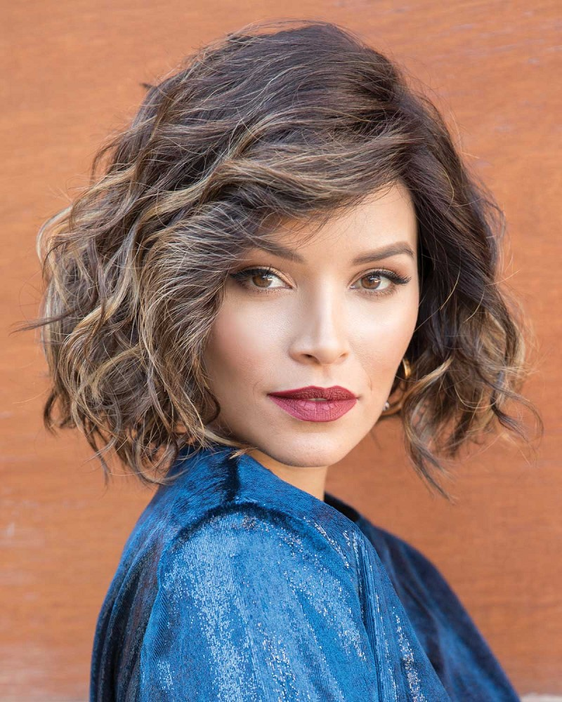 ADELINE LACE FRONT MONOFILAMENT PART SYNTHETIC HAIR WIG - RENE OF PARIS
