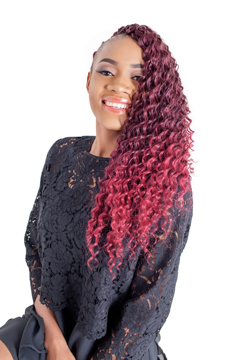 LINDA DOMINICAN DEEP WAVE 22' CROCHET - REGULAR BRAIDING HAIR