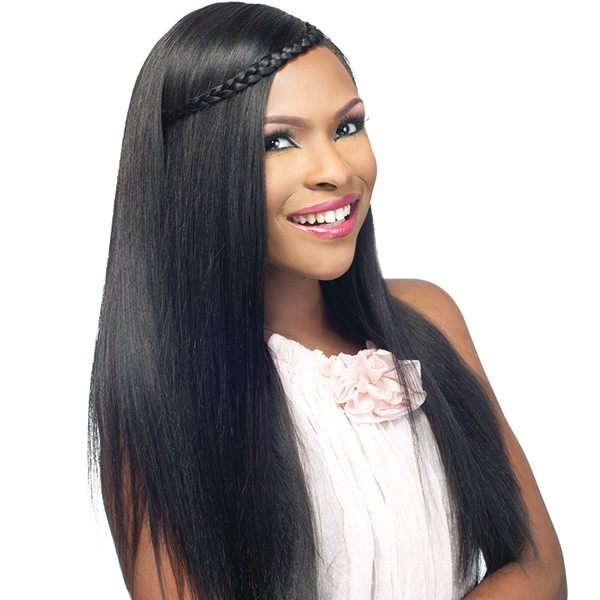 ULTIMATE PLUS SILKY YAKI HUMAN HAIR WEAVE