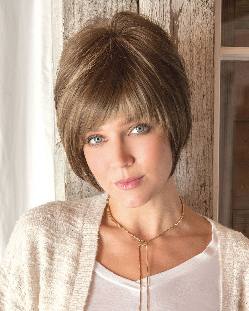 EMILY 2551 MONOFILAMENT TOP WIG - HONEY WHEAT - AMORE