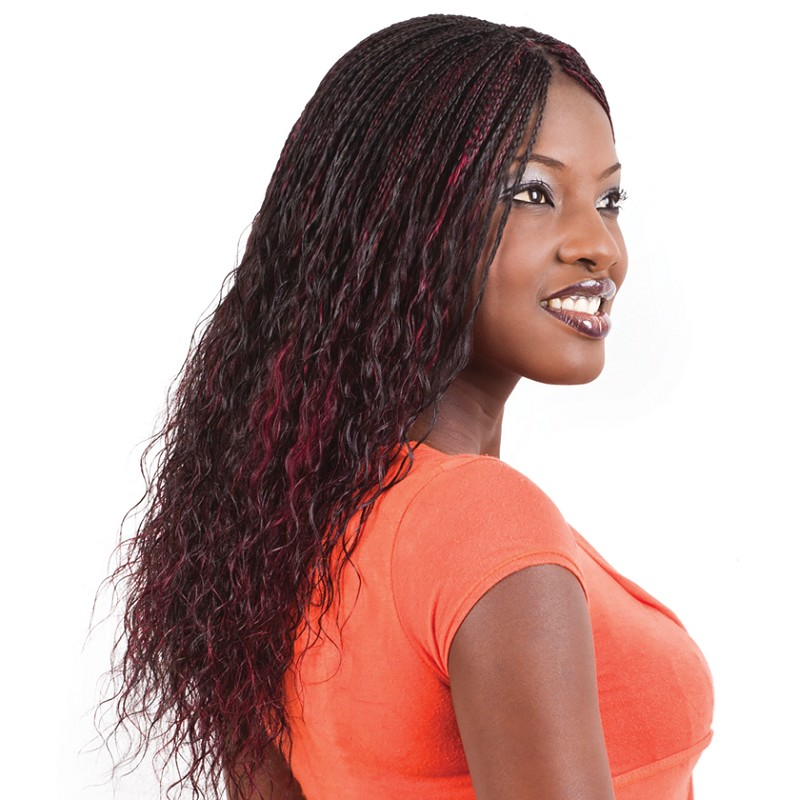 FRENCH WET & WAVY HUMAN HAIR BULK FOR BRAIDING OR BONDING