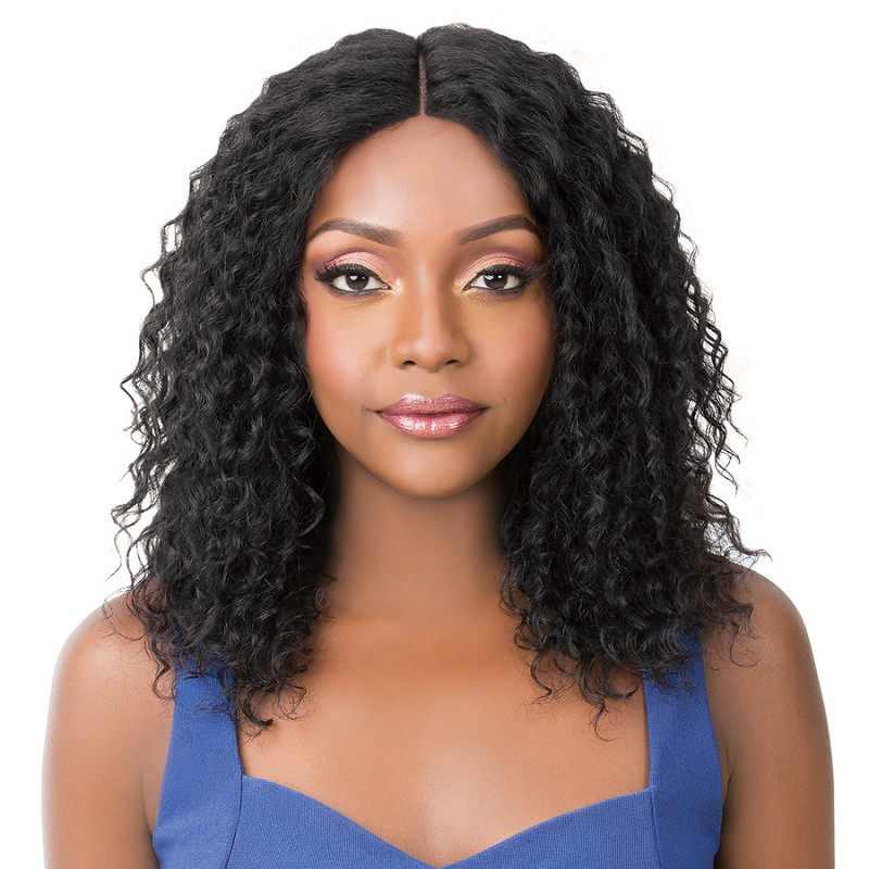 HH S LACE REMI WET N WAVY BOHEMIAN WAVE   -  IT'S A WIG