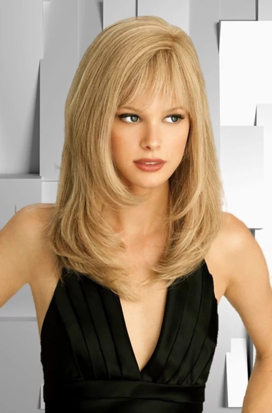 LOUIS FERRE AMBER MONOFILAMENT LACE FRONT HUMAN HAIR WIG