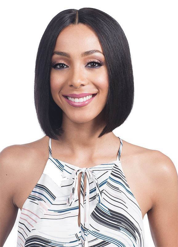 MHLF800 EMA HAND-TIED LACE FRONT LACE PART 100% HUMAN HAIR WIG - BOBBI BOSS
