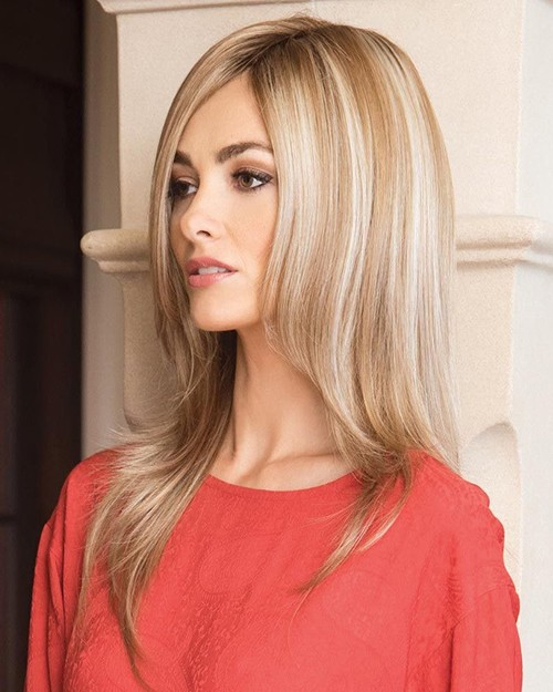 SHILO 1654 MONOFILAMENT TOP  WIG - COLOR SHOWN:  NUTMEG-R - NORIKO COLLECTION