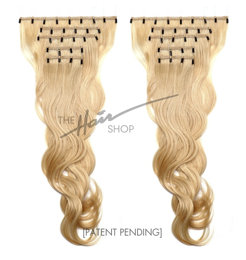 "ONE STEP HAIR 18"" FULL PACK HAIR EXTENSIONS"
