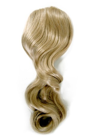 "Fall Hairpiece (22"" Length) 100% Human Hair Handtied Monofilament Fall Toppiece - SALON SPECIALTY PRODUCT"