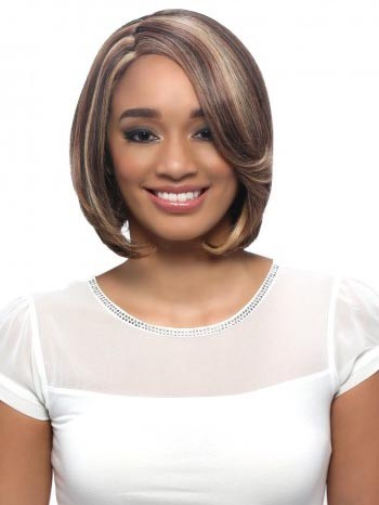 "Tiara Lace Front Wig - 100% Remi Human Hair Lace Front Wig Invisible ""L"" Part - Vivica Fox"