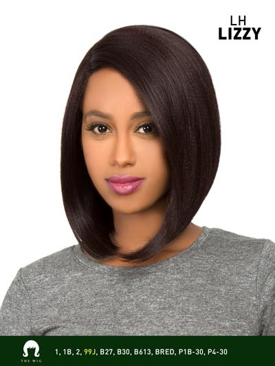 Lizzy - Human Hair Blend Lace Front Wig - The Wig