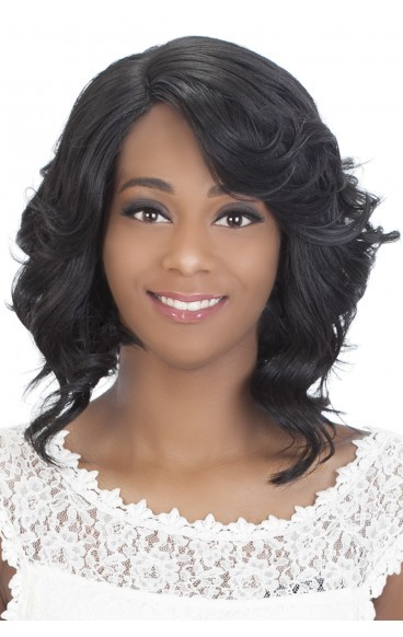 Tori - Heat Style Synthetic Hair w/Invisible Lace Part - Swiss Lace Front Wig - Vivica Fox