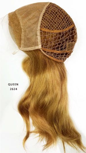 QUEEN 2624 LACE FRONT INTEGRATION WIG