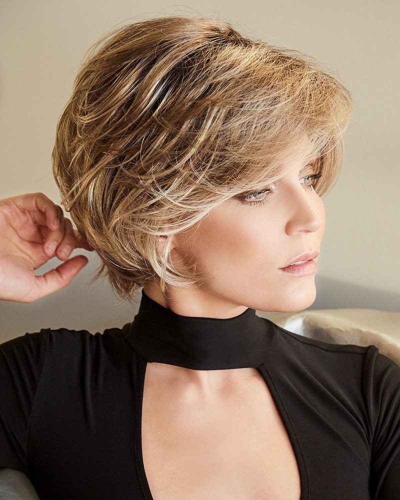 BRENNA SYNTHETIC LACE FRONT MONOFILAMENT TOP WIG - RENE OF PARIS
