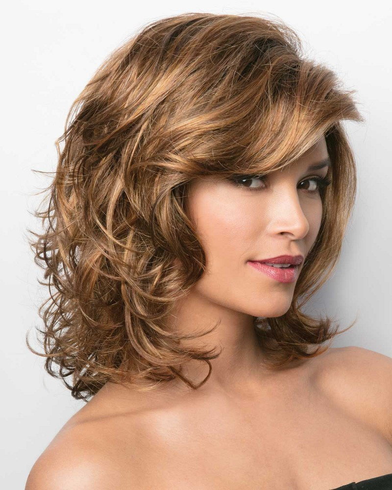 INDIA 2390 LACE FRONT MONOFILAMENT PART WIG - RENE OF PARIS