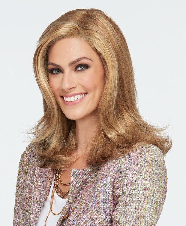 LOVE LOVE LOVE LACE FRONT MONOFILAMENT PART WIG - RAQUEL WELCH