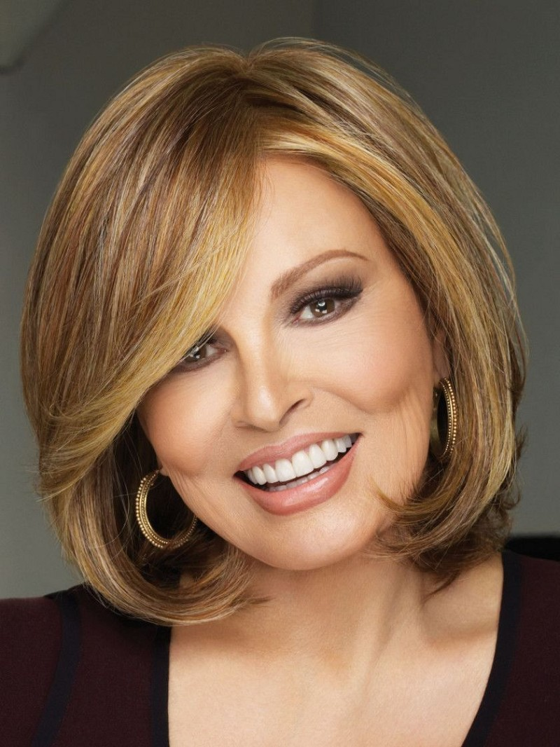 UPSTAGE LACE FRONT MONOFILAMENT PART 100 HAND-KNOTTED WIG - RAQUEL WELCH