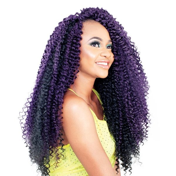 "LINDA JAMAICA WATER WAVE 22""  SYNTHETIC BRAIDING HAIR -SUPREME"