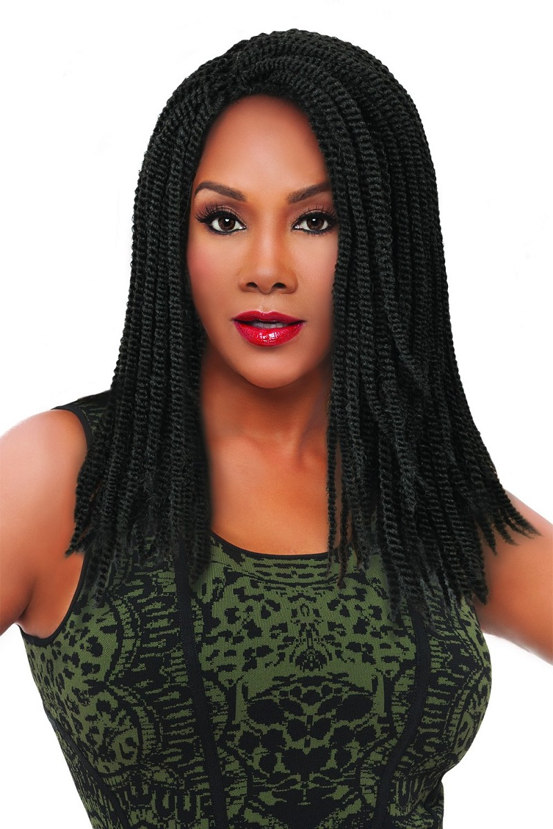 AFRO KINKY BULK 100% HUMAN HAIR BULK (LOOSE) FOR BRAIDING - VIVICA FOX