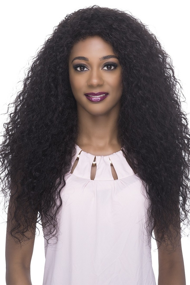 Beauty - Natural Brazilian Remi Human Hair Lace Front Wig - Vivica Fox