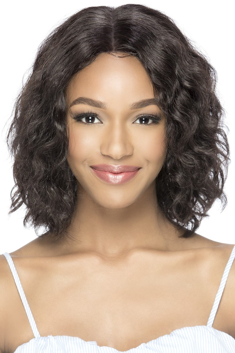 "CILEE  BRAZILIAN NATURAL 100% HUMAN HAIR 6""X4"" LACE FRONT WIG - VIVICA FOX"