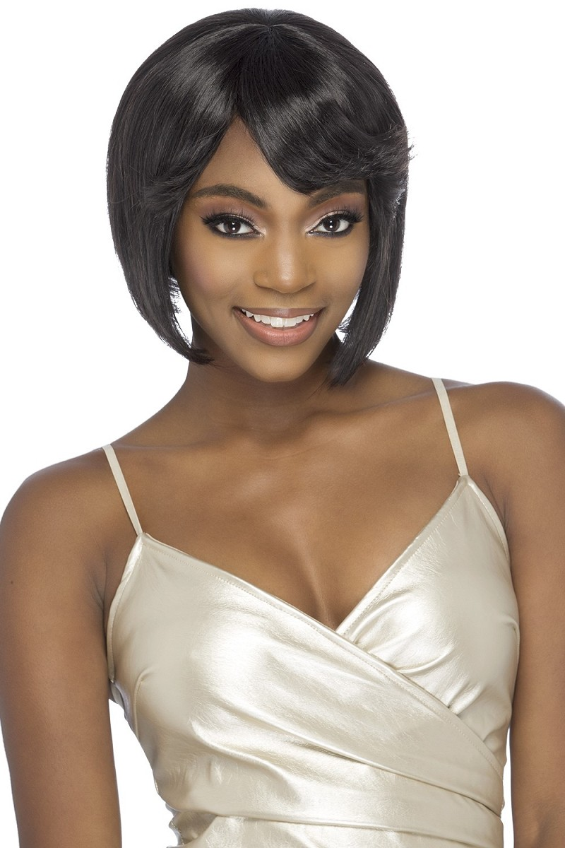 JOCELYN 100% REMI HUMAN HAIR TRADITIONAL STRETCH CAP WIG - VIVICA FOX