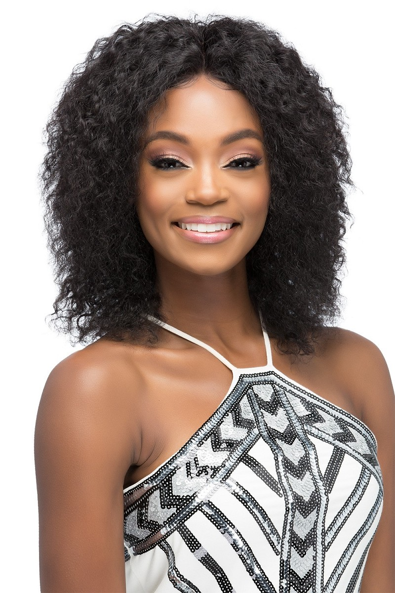 Michigan Remi Natural Brazilian Lace 360° Expanded Free Style Part - Human Hair Wig - Vivica Fox